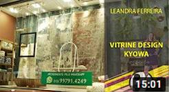Vitrine Design Kyowa - Leandra Ferreira